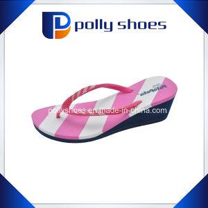 a48c92333 China New Ladies Casual Stripe Wedge Heel Platform Foam Beach ...