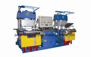 Silicone Fuel Cap O-Ring Vacuum Hydraulic Press Molding Machine Made in China pictures & photos
