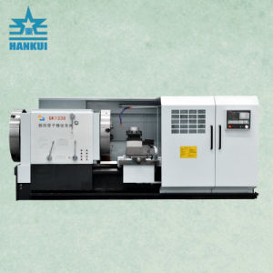 High Speed CNC Pipe Thread Lathe Price Qk1327 pictures & photos