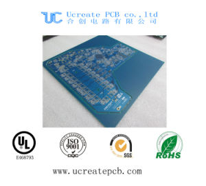 Blue Solder Mask PCB Printed Circuit Board with UL pictures & photos