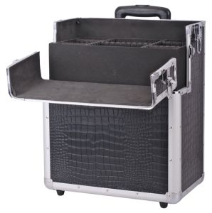 Design Aluminum Tool Box with Wheels pictures & photos