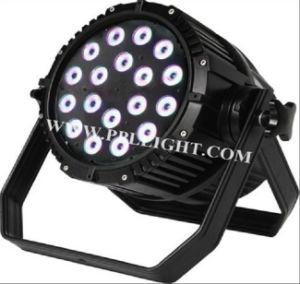 RGBWA+UV 6in1 LED PAR 18X18W LED PAR Can Outdoor Use