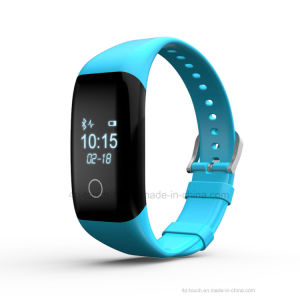 Promotion Gift Smart Silicone Bracelet with Heart Rate Monitor V7 pictures & photos