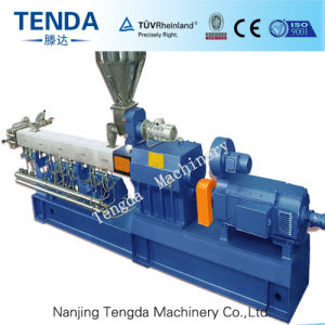 Tsh-65 Tenda Parallel Co-Rotating Twin Screw Plastic Extruder pictures & photos