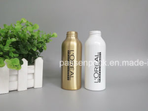 200ml Cosmetic Aluminum Bottle in Golden Color (PPC-ACB-031) pictures & photos
