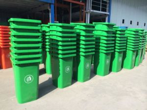 HDPE Plastic Wheelie/Mobile Garbage/Waste Container/Bin 240L pictures & photos