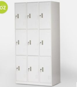 Storage Cabinet Gym Locker Steel Wardrobe School Locker