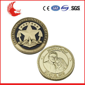 Cheap Custom Coins Silver Plating Europe Souvenir Coin pictures & photos