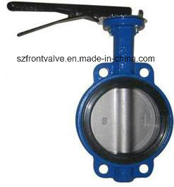 Cast Iron Wafer Butterfly Valve pictures & photos