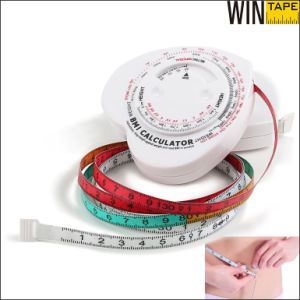 China Manufacture Retractable Body Fat Scale Measuring Tape (BMI-015) pictures & photos