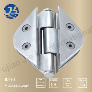 Shower Door Hardware Stainless Steel Glass Clamp (B11-1)