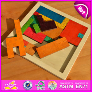 Educational Intelligent Animal Shape 3D Wooden Jigsaw Puzzle for Children W14A145 pictures & photos