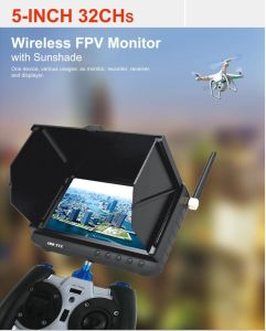 5.8g 16chs 5inch Powered Wireless Fpv Receiver Recorder Monitor pictures & photos