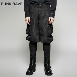 K-265 Punk Rave New Style Exquisite Small Bottom Man Motocross Trousers