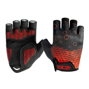 Fingerless Road MTB Bike Bicycle Cycling Half Finger Padded Gloves Men Women/'s