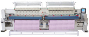 Computerized 40 Head Quilting Embroidery Machine (GDD-Y-240-2) with 67.5mm Needle Pitch pictures & photos