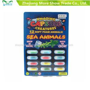 4 X Animal Magic Grow Growing Capsules Expanding Sponge Foam Capsule Toy Gift