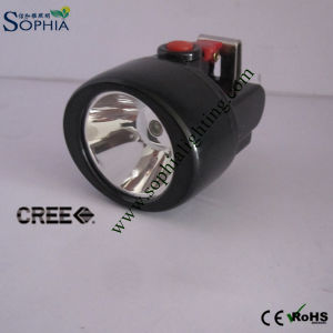 New 3W Rechargeable CREE LED Head Lamp, Miner Lamp/Headlamp