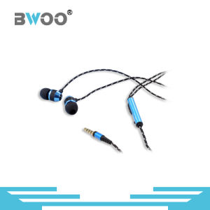 Super Bass 3.5mm Aluminum Shell Stereo Earphone pictures & photos