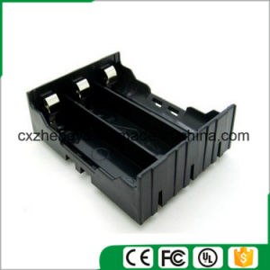 11.1V/3X18650 Battery Holder with Contact Pins
