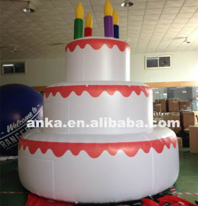 Wondrous China Giant Advertising Inflatable Birthday Cakes Model Photo Funny Birthday Cards Online Unhofree Goldxyz