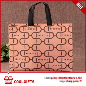 Cute Custom Non-Woven Shopping Bag with Bow for Lady pictures & photos