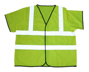 100% Polyester Hi Vis Reflective Safety Vest pictures & photos