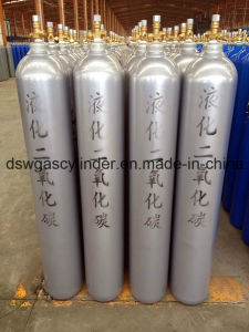 40liter High Pressure High Quality Industry Gas Cylinder with Qf-2c Valve and Cap pictures & photos