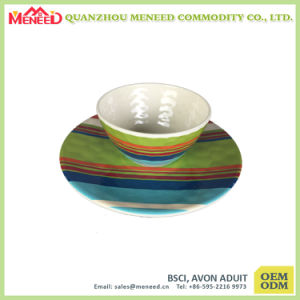 Wholesale Full Color Printed New Design Dinner Set