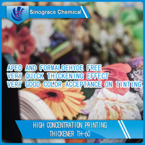 High Concentration Printing Thickener (TH-60) pictures & photos