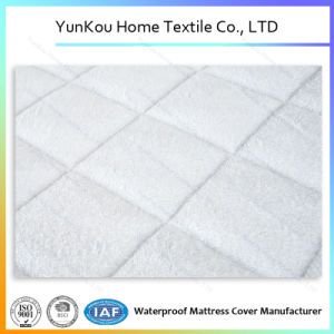 2017 Quality Waterproof Bamboo Fiber Terry Mattress Protector Laminated TPU pictures & photos