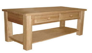 Bin 02 Uk Style Furniture Solid Oak Coffee Table