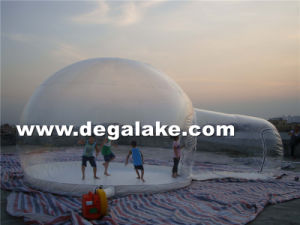 PVC or TPU Outdoor Inflatable Bubble Tent Dome Tent