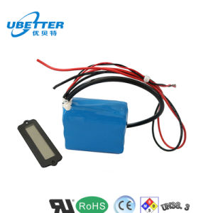 High Capacity 12.8V 12ah LiFePO4 26650 Battery Pack for E-Tools pictures & photos
