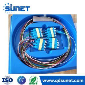Optic Fiber Steel Tube 1*N 2*N (N=2, 4, 6, 8, 12, 16, 32, 64) Micro Type  PLC Splitter Sc APC / Upc FTTH Fiber Splitter