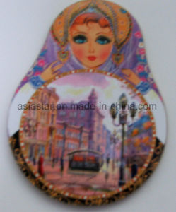 Russian Dolls Full Color Cork Coaster pictures & photos