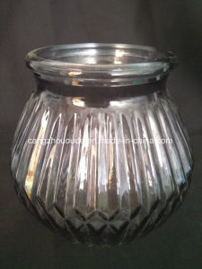 Round Transparent Glass Container Various Design