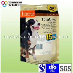Stand up Ziplock Bag for Pet Food pictures & photos