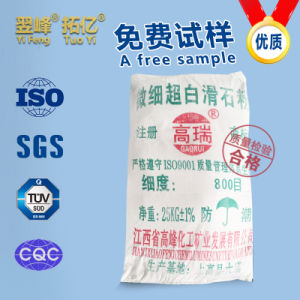 Industrial Grade Pharmaceutical Grade Ultrafine Talcum Powder
