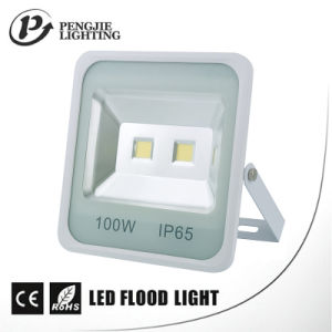 100W COB LED Square Floodlight for Outdoor Ce, RoHS pictures & photos