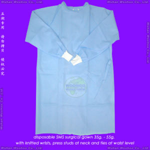 Reinforced Surgical/Isolation/Visitor Gown pictures & photos