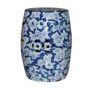 China Porcelain Stool Blue and White (LS-144) pictures & photos