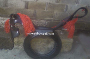 Tire Swing, Recycled Rubber Tire Toy
