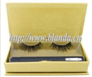 Slap-up Packaging with Mink Strip Eyelash or Eyelash Packaging Box