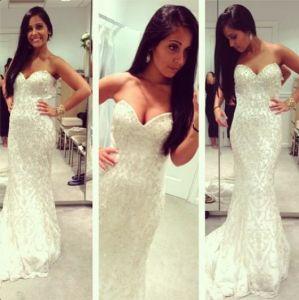 celebrity mermaid wedding dresses