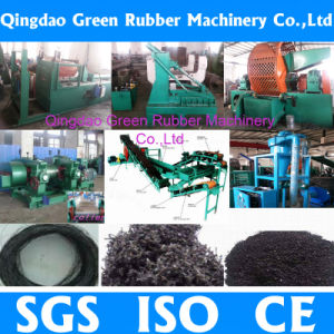 Automatic Waste Tire Rubber Powder Grinding Machine