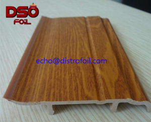 High Abvasion Resistance Wood Grain Texture for Solid Wooden Door pictures & photos