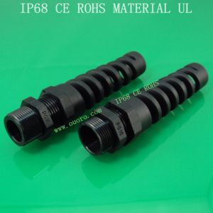 Plastic Flex Spiral Cable Glands Series,Pg-Lengthen Type, Nylon6, Waterproof, Dustproof, IP68, CE, RoHS