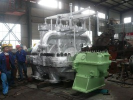 Back Pressure Steam Turbine (B1.5-3.43/1.27)