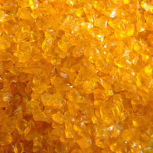 Orange Glass Nuggets Fire Glass pictures & photos